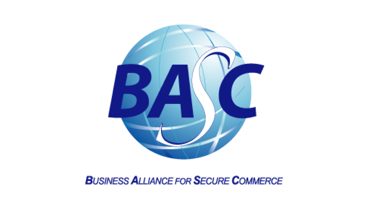 We have the BASC certification!